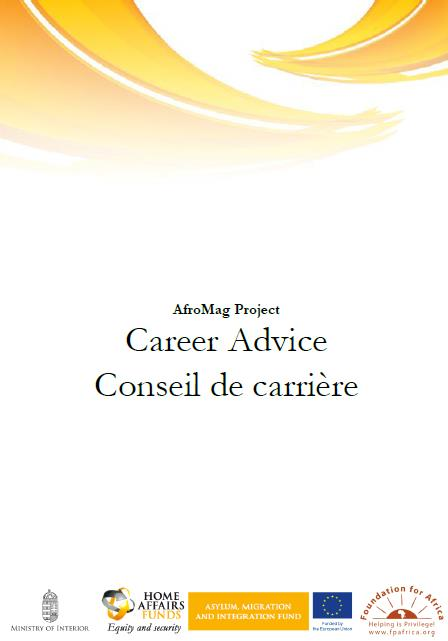 Career Advice Booklet is available for You!