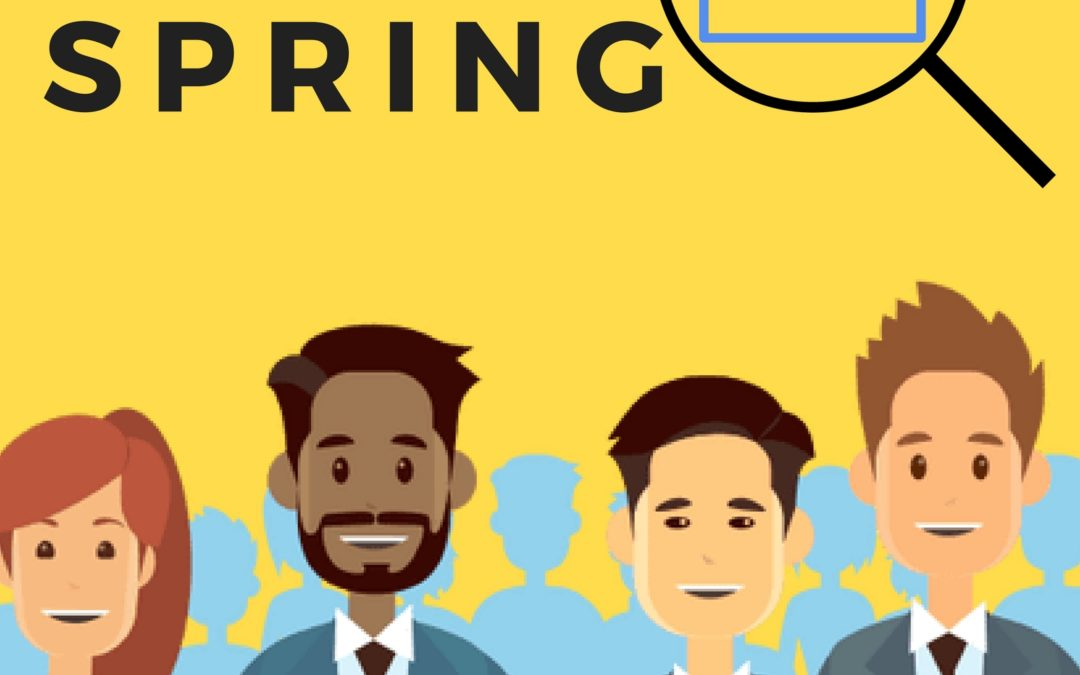 Do not miss spring job fairs in 2018